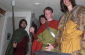 Wikinger Kostüm (ein wenig) historisch korrekte