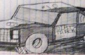 Mein Auto Zeichnung