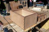 Multi-modulare Grundgestelle für Lastenräder - stapelbar wasserdicht lasergeschnittenes Boxen