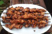 Philippinische BBQ Chicken On ein Stick