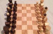 Schachspiel aus Schrott DIY