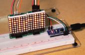 Arduino - Mini Dot-Matrix-Display