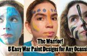 Kriegsbemalung Ideen