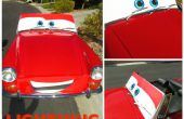 DIY-Leben Größe Lightning McQueen