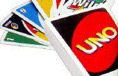 Spielanleitung UNO mit normalen Spielkarten