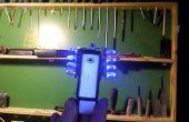 USB aufladbare LED Blitzlicht