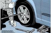 Wie man einen Reifen wechseln