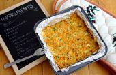 Blumenkohl-Backen mit Ziegenmilch Käse & Parmaschinken
