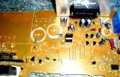 Aufräumvorgang Teile aus alten PC-Boards...