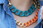 Chunky Halsketten-enorme Eisen Kette Halsketten für Frauen