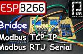 Esp8266 Modus Brücke Modbus RTU Slave - Modbus TCP-IP-Slave