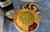 Irische Fleischpastete gemalt
