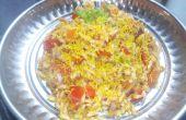 Indische aufgeblasen Reis-Bhel Puri