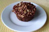 Heidelbeer-Kleie-Muffins mit Streusel Belag