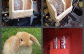 Bunny Rabbit Hydration Station gemacht aus Altholz
