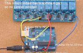 Home Automation - Relais hinzufügen zu Arduino