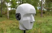 Binaurale Kopf für die Stereo-Aufnahme