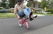 Machen Sie einen Mini Liegerad von einem Kind Fahrrad