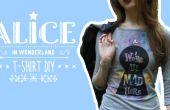 T-Shirt Alice im Wunderland DIY