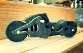 Laser schneiden Motorrad Spielzeug