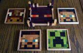 Hölzerne Bierdeckel Minecraft