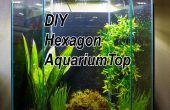 DIY-LED-Haube für einen 20 Gallonen Sechseck Aquarium Tank