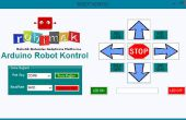 Arduino Robot Control Console-Programm mit Visual Basic
