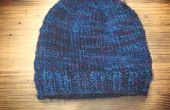 DIY |  Einen Hut ohne Muster stricken | Grundausführung leicht gemacht