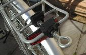 Fahrrad-Trailer Hitch (auf Gepäckträger)