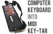 Verwandeln Sie jede Computertastatur in ein Midi Keytar