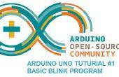 Arduino Uno Tutorial #1 - grundlegende Blink Programm