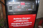 150 Amp Motomaster Batterie Ladegerät Fan Controller Diagnose und Reparatur