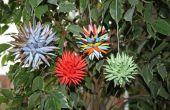 Papier-Sterne Ornamente