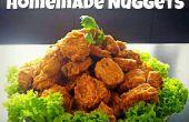 Knusprig gewürzte hausgemachte Nuggets mit Sweet & saurer Sauce!