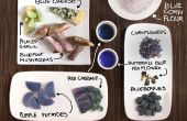 Blaue Lebensmittel! Buntes Kochen ohne künstliche Farbstoffe