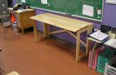 MEHR NOMAD Möbel: Eine Faltung Schreibtisch