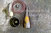Die ganze Sache wiederverwenden: Glasflaschen