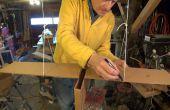Ein Flattern Vogel Spielzeug aus Pappe zu machen