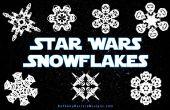 Gewusst wie: Star Wars-Schneeflocken machen