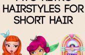 2 Retro-Frisuren für kurze Haare