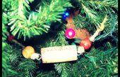 Wein-Korken Christmas Tree Garland