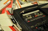 Kassette 1101 - eine in die Tiefe schauen Sie in diese analogen Tonband-Medien
