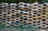 Wie man einen Holz-Zaun bauen