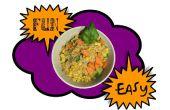 Spaß, einfach vegane gebratener Reis!