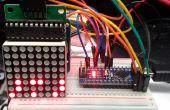 Arduino binäre Uhr mit LED-Matrix