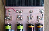 Eine einfache Solar-Ladegerät für Nickel/Metallhydrid und Alkaline AA Batterien