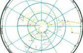Suche nach Richtung, Entfernung und navigieren zu einer entfernten Basis von Stars.