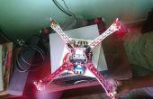 DJi F450 Quadcopter wie bauen? Haus gebaut.