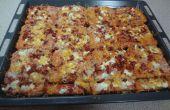 Schnelle und einfache Pizza