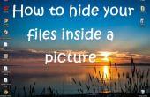 So blenden Sie Ihre Dateien in ein Bild